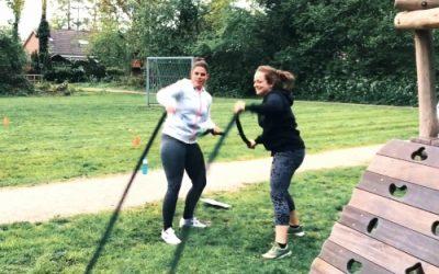 Sporten met vriendinnen is gezond!